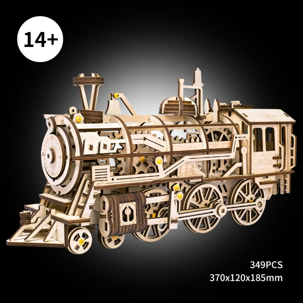 3d loco with mechanical gears